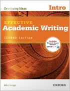 Effective Academic Writing Intro