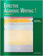 Effective Academic Writing Level 1