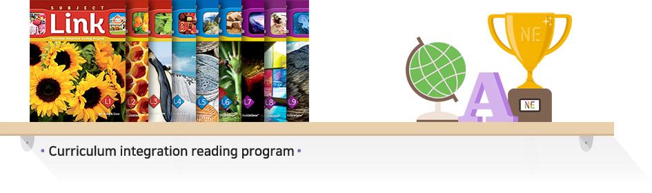 Curriculum integration reading program