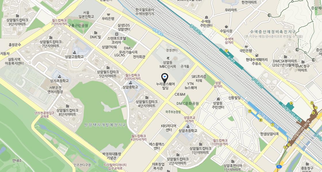 본사 지도